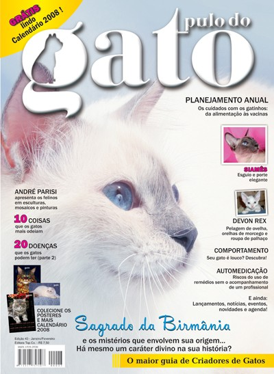 Gatil Cat Labelle - Capa da Edi��o 43