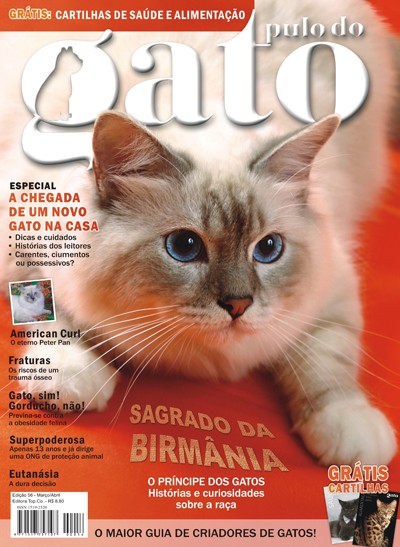Gatil Cat Labelle - Capa da Edi��o 56